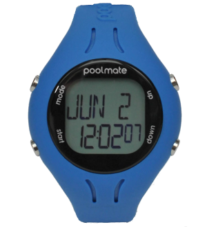 Часы для плавания swimovate PoolMate 2 blue (pb2002)