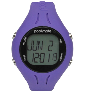Часы для плавания swimovate PoolMate 2 Purple (pb2004)