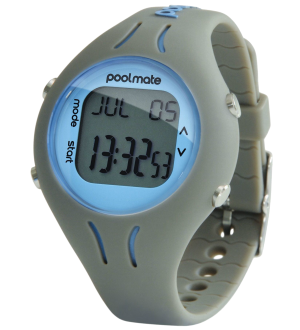 Часы для плавания Swimovate PoolMate Grey (pb003)